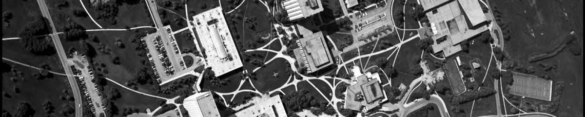 Aerial photograph of the University of Calgary campus