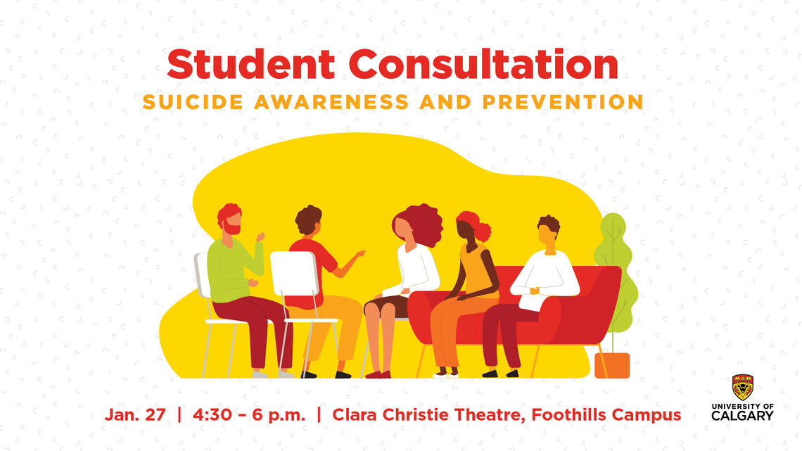 student consultation on suicide awareness and prevention