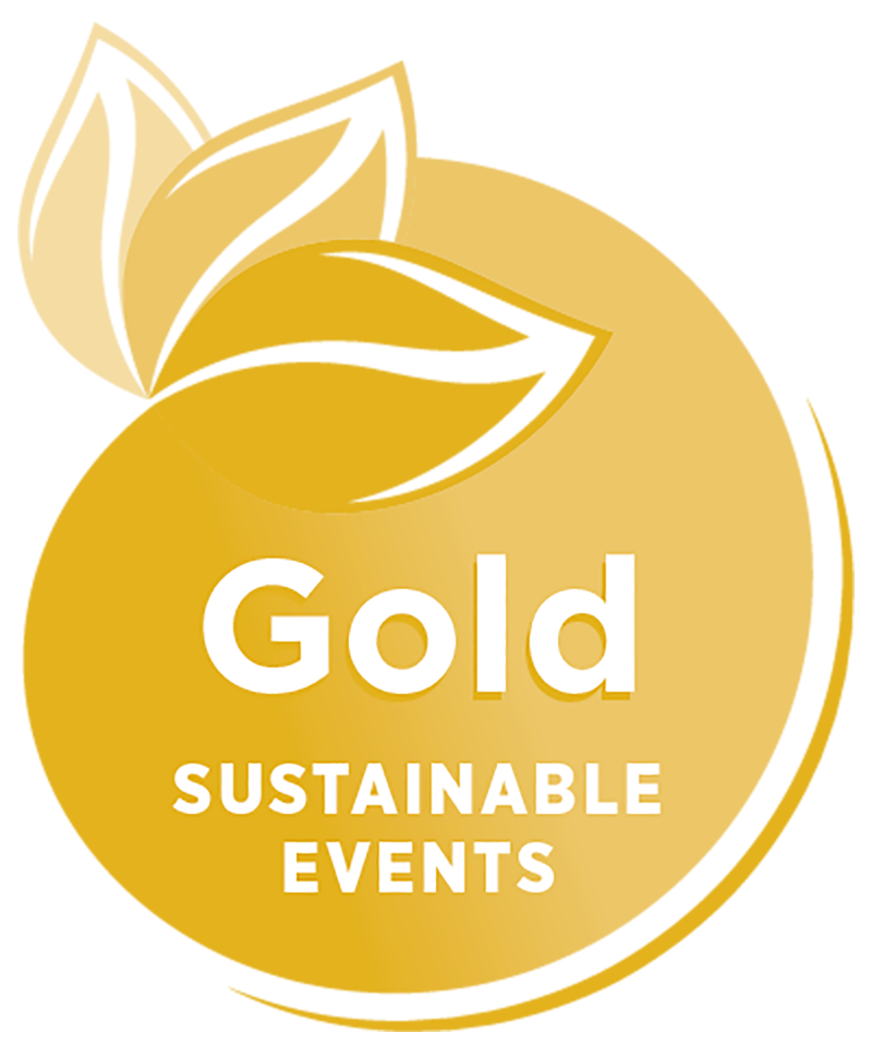 Sustainable Events Gold Badge