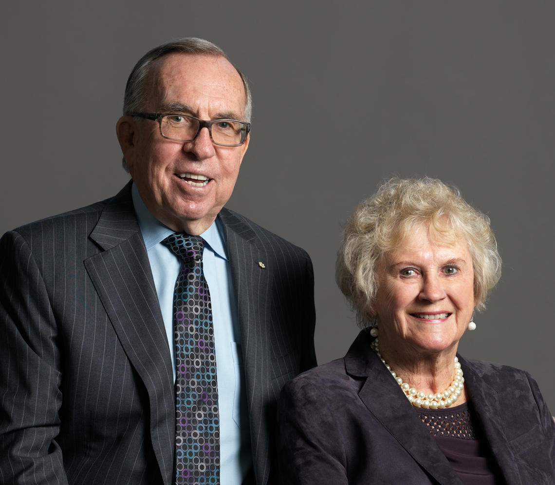 Dick and Lois Haskayne