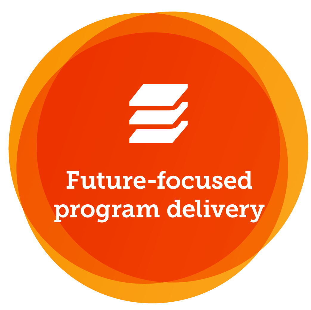 Future-focused program delivery