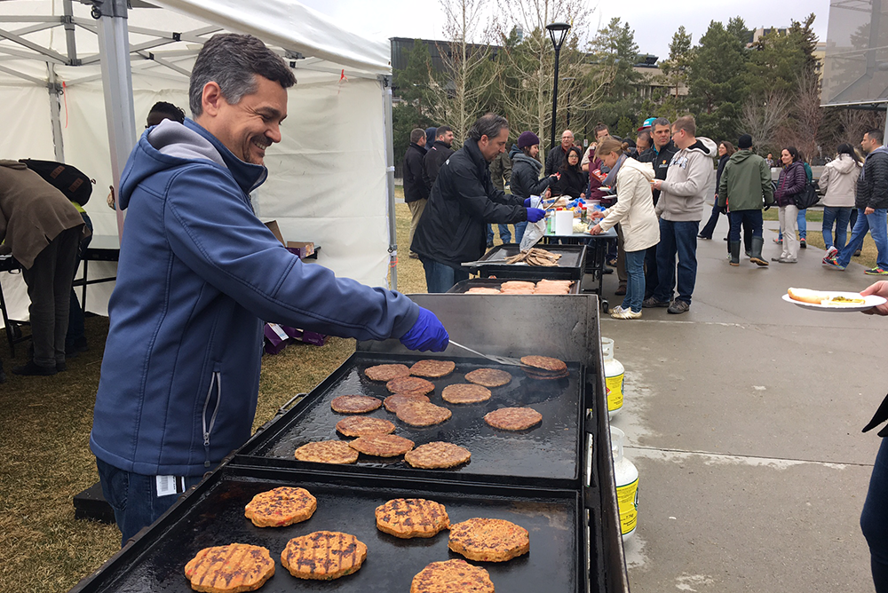 Join the Facilities team for a free barbecue in the TFDL Quad following the cleanup.