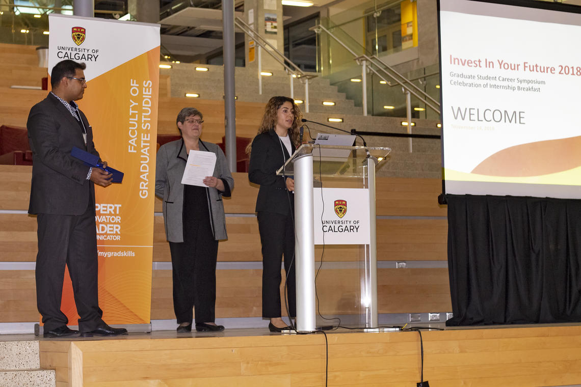 Graduate Students And Employers Honoured For Internship