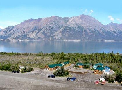 Kluane Lake Field Station, at the shore of Kluane Lake in the southwest corner of the Yukon Territory.