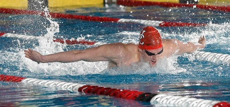 Bogdan Knezevic, a neuroscience student at the University of Calgary, plans to continue competitive swimming during his studies as a Rhodes Scholar.