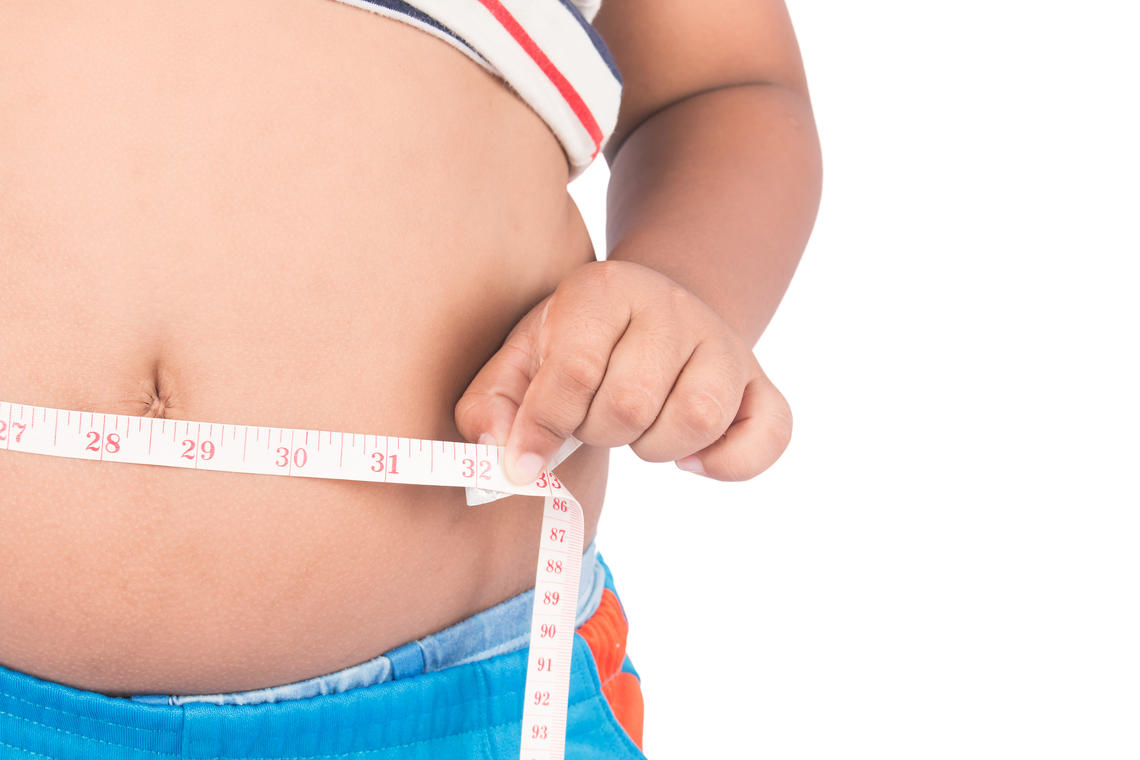 Being overweight in childhood tends to persist into teenage years, then into adulthood.