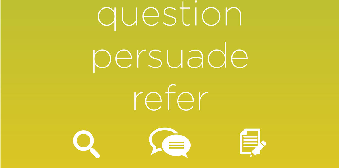 Question, Persuade and Refer (QPR) is one of the key suicide prevention programs offered by SU Wellness Centre.