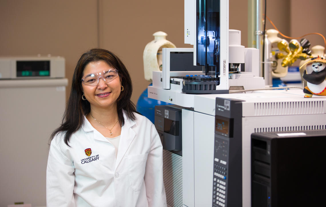 Susana Kimura-Hara researches how compounds in the water that appear as a result of human activity might be removed or altered by water treatment processes.