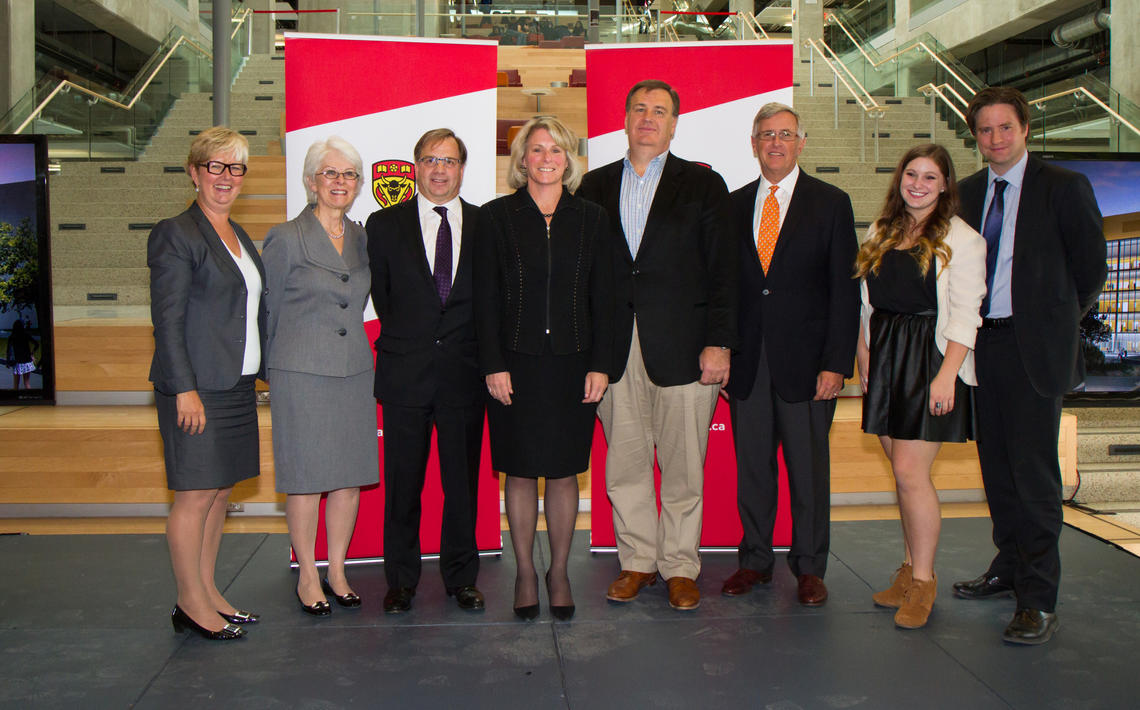 The University of Calgary announced the single largest corporate donation in its history.