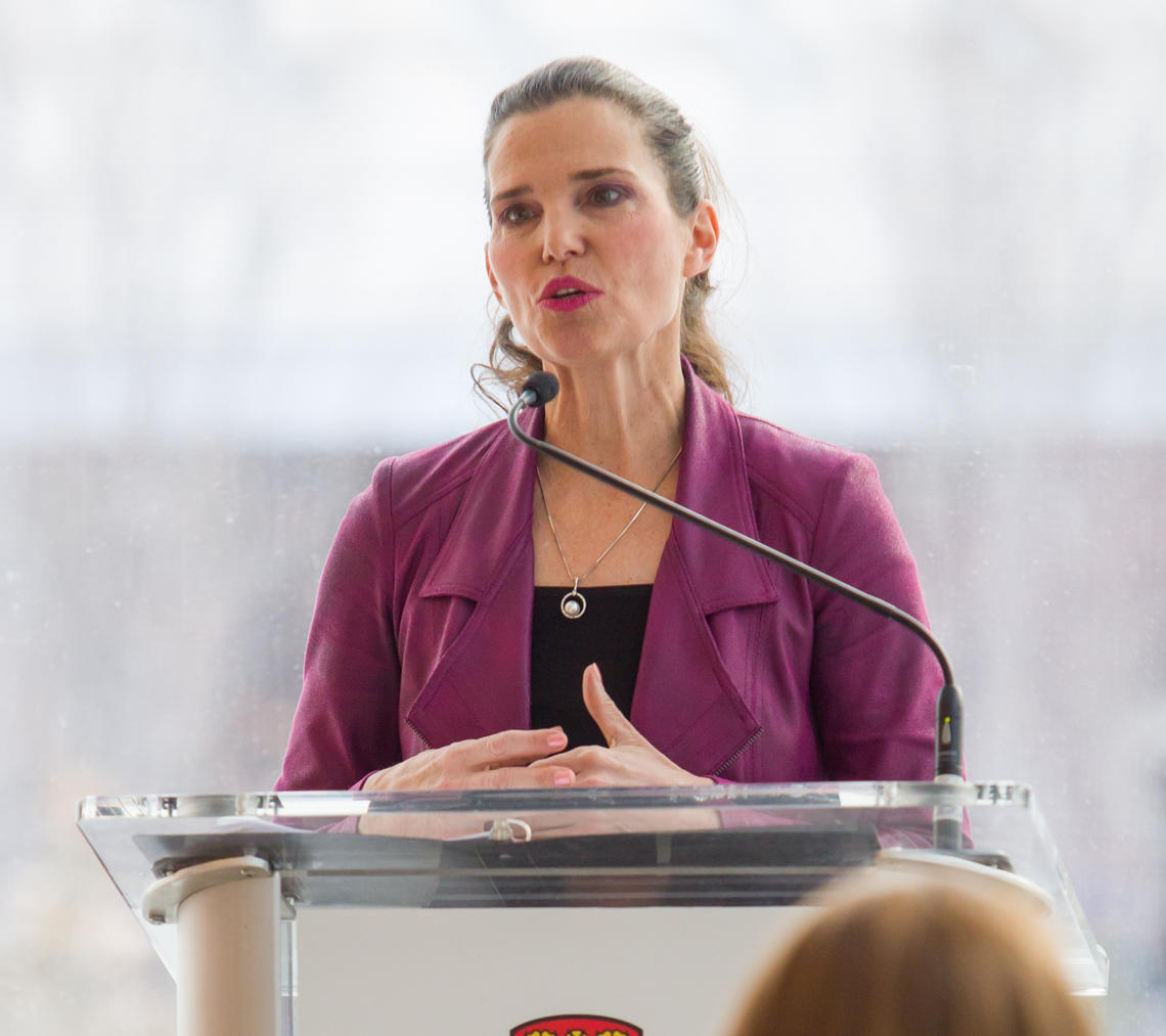Kirsty Duncan, Government of Canada minister of science and sport, announced the funding for the University of Calgary researchers under the Exploration stream of the New Frontiers in Research Fund.