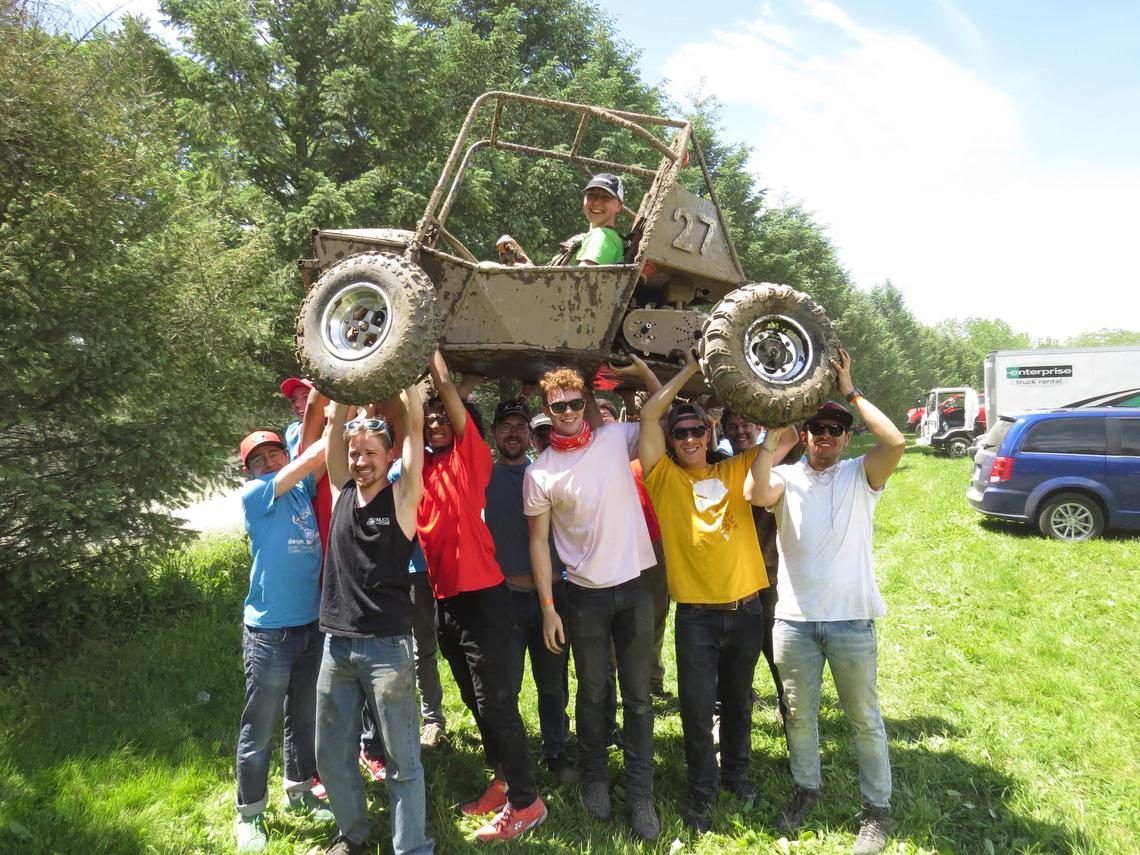 The Schulich Baja SAE Team placed fifth in the endurance event and seventh in the design event against 100 teams from around the world.