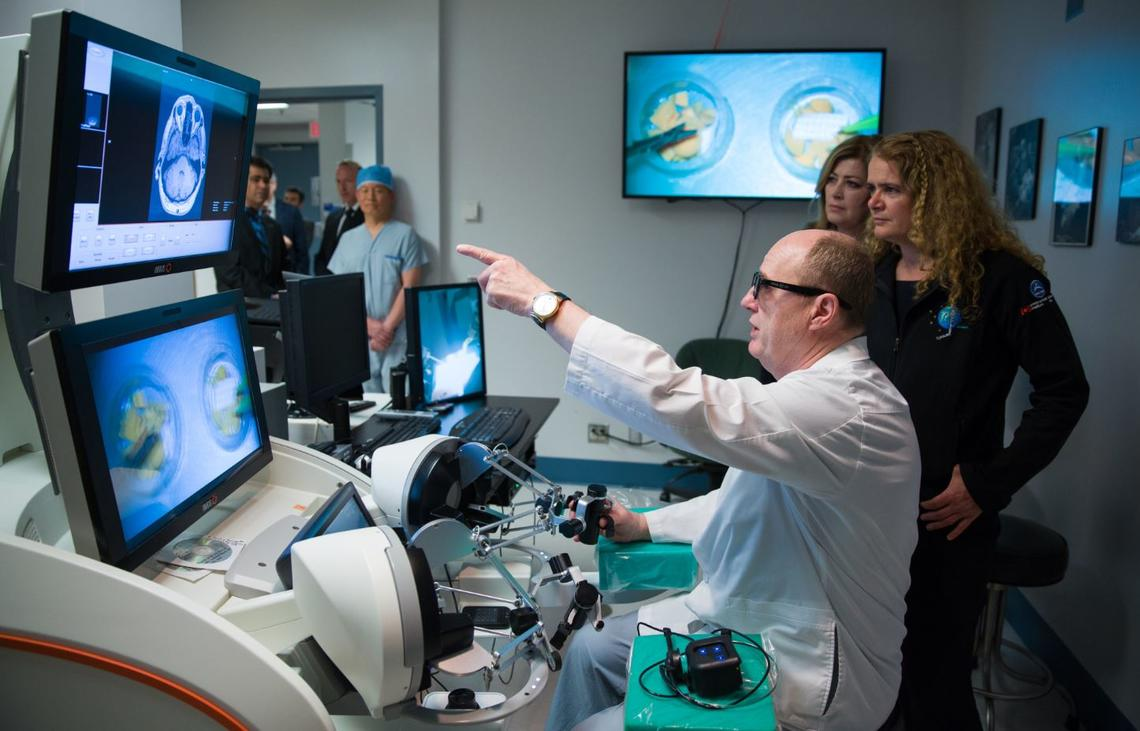 In May 2018,  Governor General Julie Payette visited the neuroArm lab and toured the 3.0T iMRI Operating Suite at the Foothills Hospital, where neuroArm is housed.