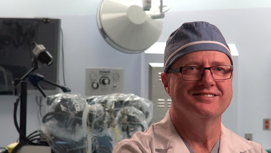 Garnette Sutherland created the world's first robot capable of performing neurosurgery on a patient inside an MR machine.