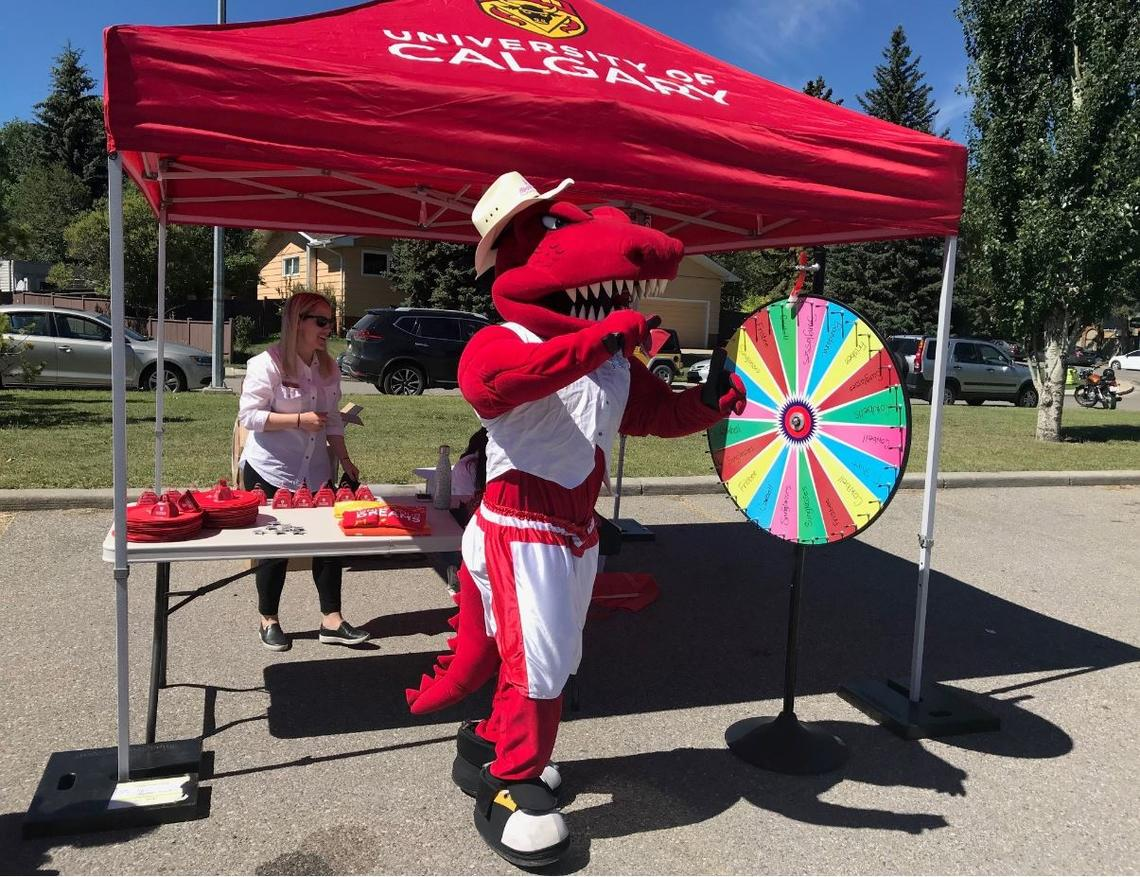 Join Rex at a community event at the Triwood Community Association on July 7.