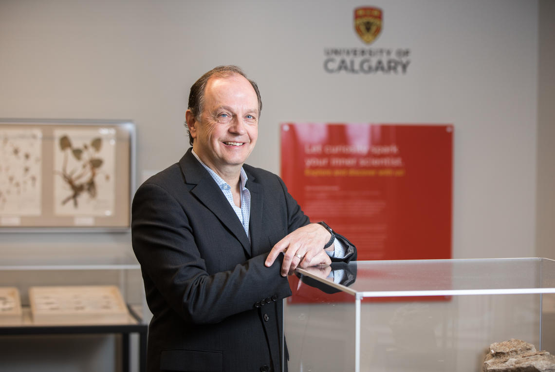 University of Calgary alumnus Don Clague remains active with the university through his involvement as a member of the Schulich Industry Advisory Council and the Faculty of Science Dean's Circle.