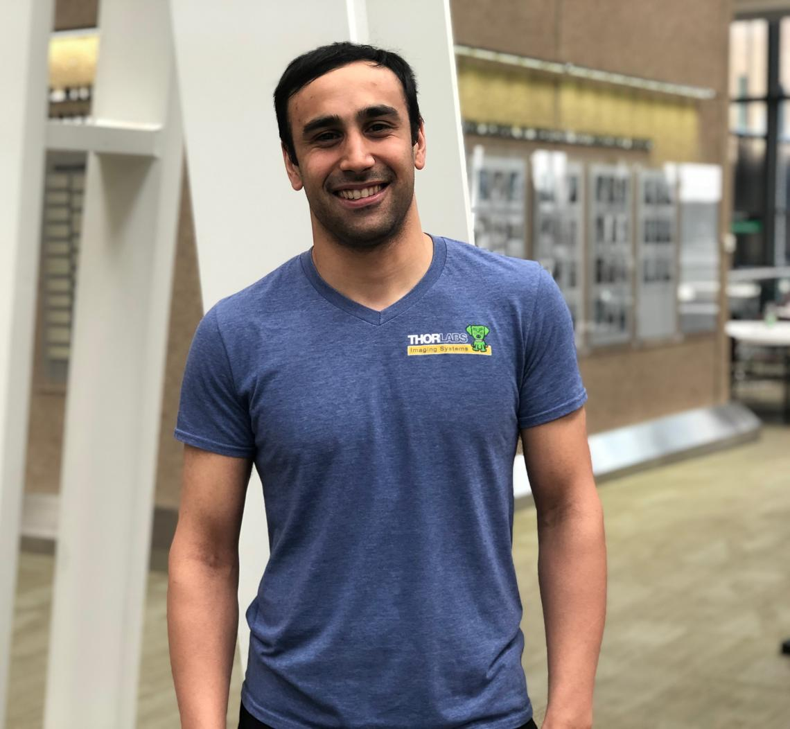 University of Calgary student Neil Rasiah worked with his mother, Margaret Rosso, and other family members to plan a scholarship award for a cancer researcher.