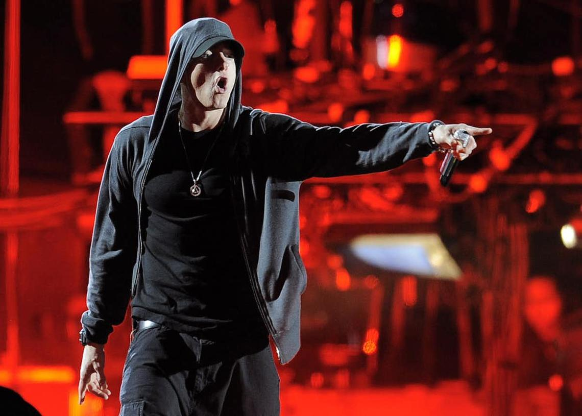 It is never OK for white folks to use the n-word. Famous white rapper Eminem agrees.