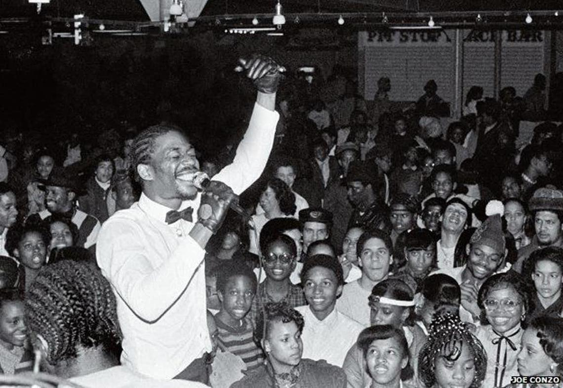 Grandmaster Caz is a hip-hop elder from the Bronx who has been rapping since the mid 1970s. Here he is rapping to an audience circa 1977. In 2012 he explored the n-word in a 300-word freestyle.