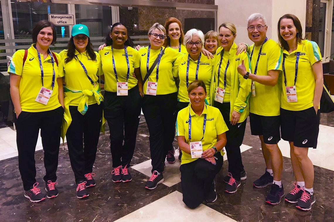 IAAF faculty volunteers