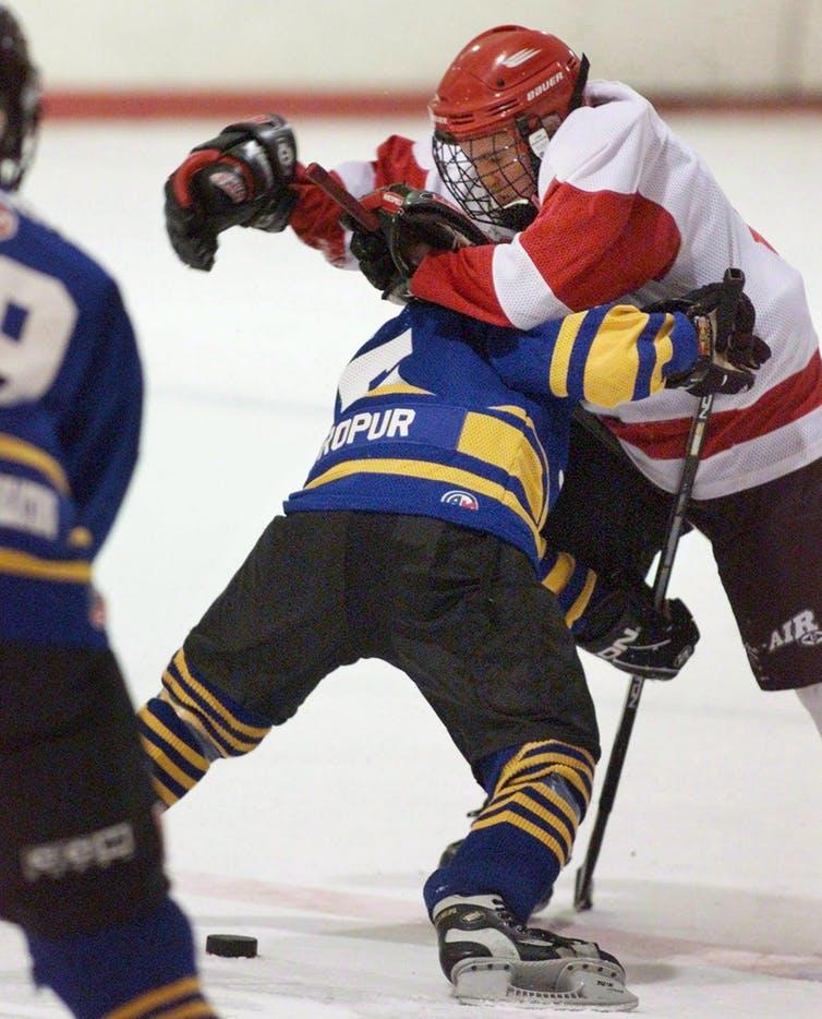 One of Canada's largest hockey associations will ban bodychecking for peewee players