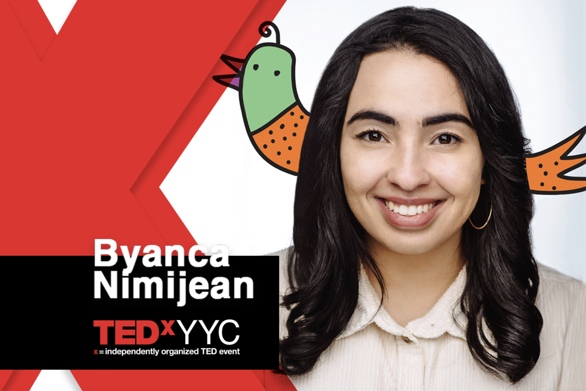 image of Byanca Nimijean from TedX YYC website