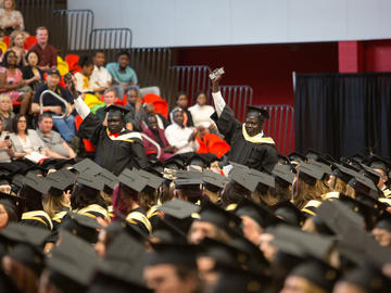The Faculties of Arts, Social Work and Graduate Studies celebrate graduation at the convocation ceremony on Wednesday, June 5, 2019.