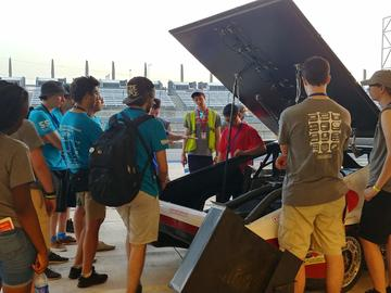 Solar Car Team at this year's Formula Sun Grand Prix in Austin, Texas.
