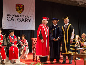 Convocation 2018 ceremonies at UCalgary.