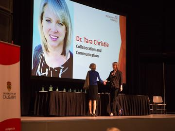 Dr. Tara Christie — the My GradSkills Program manager in the Faculty of Graduate Studies — was nominated in the Collaboration and Communication category.