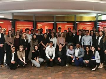 The Canadian Centre for Advanced Leadership in Business hosted its first-ever internal case competition in Fall 2018.