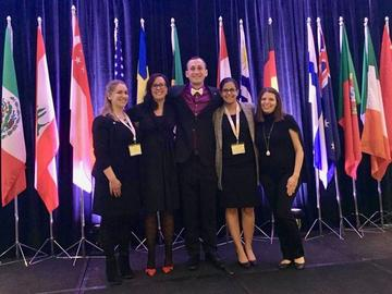 MBA students attended the well-known John Molson case competition in Montreal – the competition celebrated 38 years in 2018.