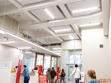 Enrolment Services interior