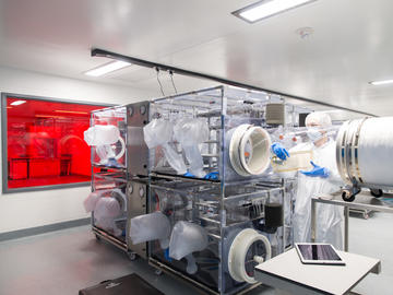 Inside the International Microbiome Centre at the Cumming School of Medicine, University of Calgary.