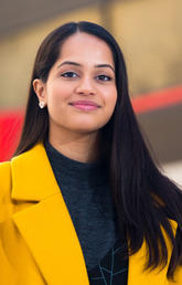 Haskayne student Sanya Chaudhry was featured as an Inspired Albertan.