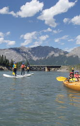 The Outdoor Centre makes learning to paddle easy, offering programs for people of all ages to learn how to paddle safely.