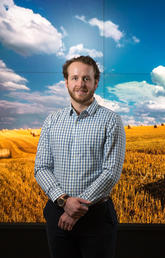 Alexander Wilkinson is working to promote sustainability interdisciplinary research at the University of Calgary.