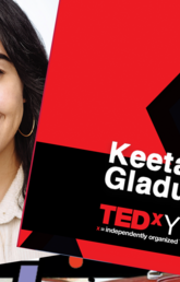 Image of Byanca Nimijean and Keeta Gladue taken from the TEDX YYC website