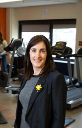 Nicole Culos-Reed, PhD, Faculty of Kinesiology, in the Thrive Centre with Alberta Cancer Exercise program participants