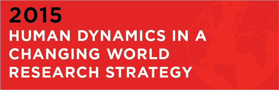 Human Dynamics in a Changing World Research Strategy