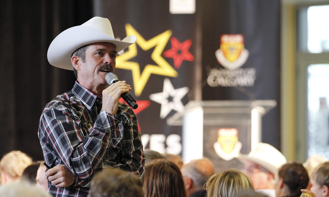 Chris Hadfield visits University of Calgary