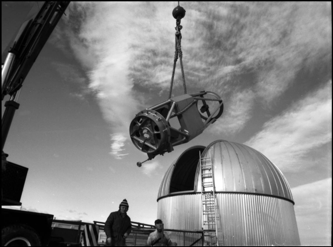 Construction of the Rothney Astrophysical Observatory